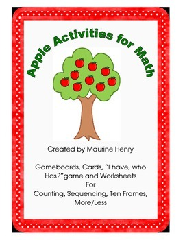 Apple Activities for Math