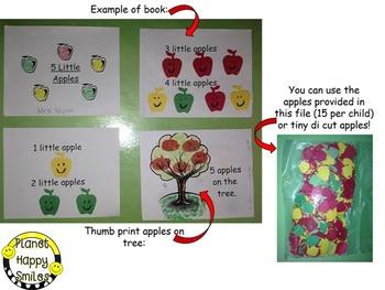 Apple Activity ~ 5 Little Apples