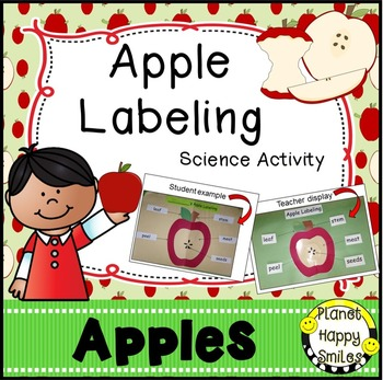 Apple Activity ~ Apple Labeling Science Activity and Reader