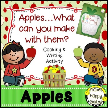 Apple Activity Apple Writing Editable By Planet Happy Smiles