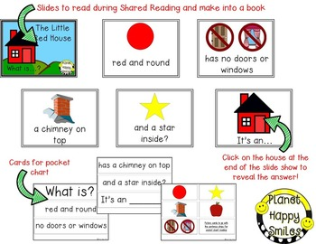 Apple Activity ~ Little Red House (Apple Riddle)