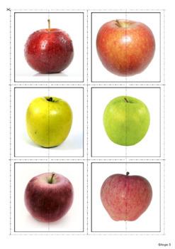 Apple Activity - Matching Halves