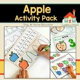 Apple Activity Pack for Preschoolers