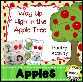 Apple Activity ~ Way Up High in the Apple Tree Poetry Activity