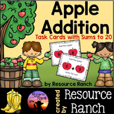 Apple Addition Task Cards