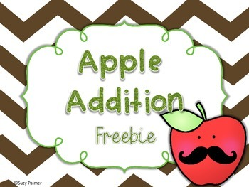 Apple Addition: 2 Digit Addition Task Cards with QR codes