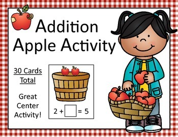Apple Addition Activity