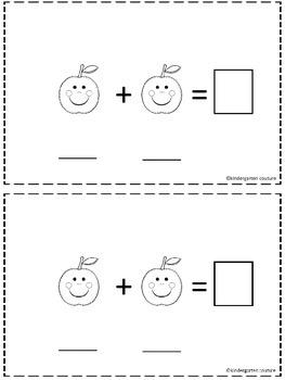 Apple Addition Booklet -Freebie