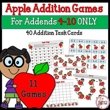 Apple Addition Games