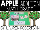 Apple Addition Math Craft