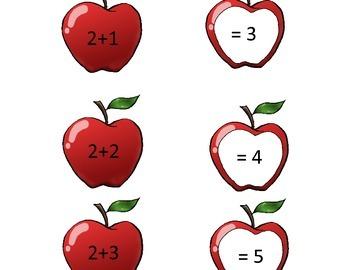 Apple Addition Math Game