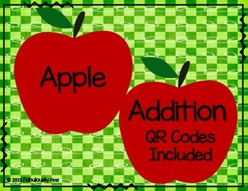 Apple Addition (QR Codes Included)