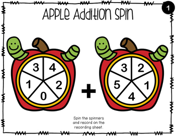 Apple Addition Spinners