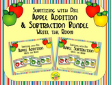 Apple Addition & Subtraction Bundle {Subitizing with Dice}
