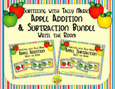 Apple Addition & Subtraction Bundle {Subitizing with Tally Marks}