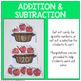 Apple Addition & Subtraction Editable Maths Center