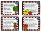 Apple Addition Word Problem Task Cards