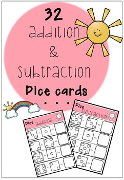 Apple Addition and Subtraction Cards