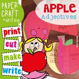 Apple Adjectives Craftivity