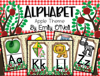 Alphabet (Apple Theme)