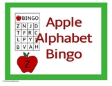 Apple Alphabet Bingo