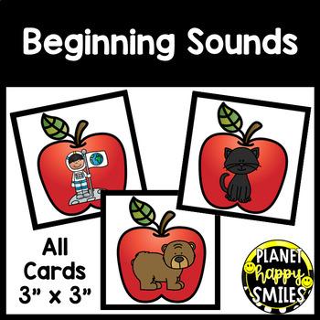 Alphabet  Matching Cards ~ Apple Theme