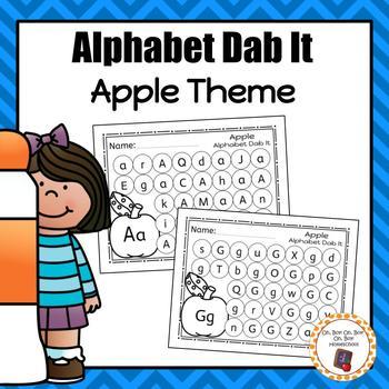 Apple Alphabet Dab It