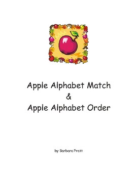 Apple Alphabet Games eBook