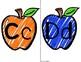 Apple Alphabet Labels