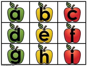 Apple Alphabet Phonics Game