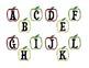 Apple Alphabet Literacy Centers: Alphabet Matching, Sortin