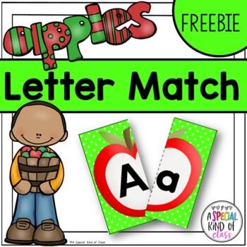 Apple Alphabet Match