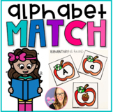 Apple Alphabet Beginning Sounds Match