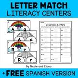 Apple Alphabet Puzzle Literacy Center