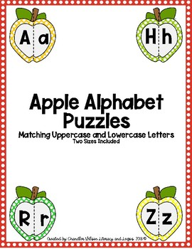 Apple Alphabet Puzzles DOLLAR DEAL