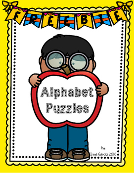 Apple Alphabet Puzzles  - Fall Freebie