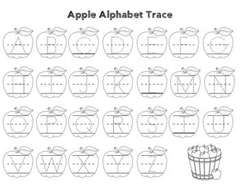 Apple Alphabet Trace