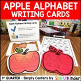 Apple Alphabet Writing Cards - Kindergarten Center - Simply Centers