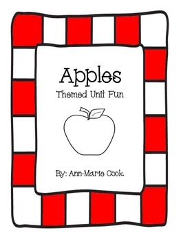 Apple Anchor Chart
