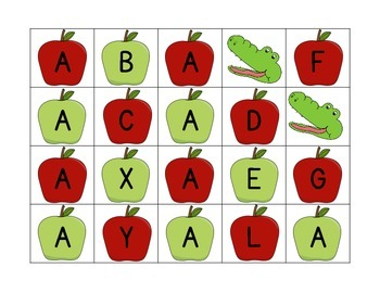 Apple, Apple, Alligator - Fun with Letter A