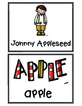 Apple Apples Everywhere! Literacy & Math Centers