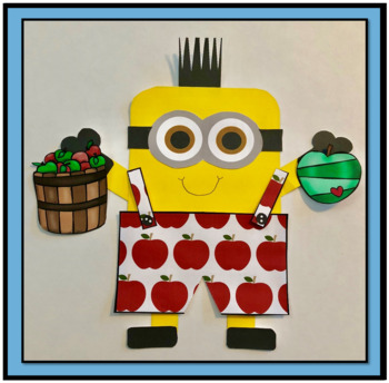 Apple Art Activity for Primary Grades