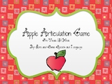 Apple Articulation Game - Prevocalic R