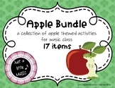 Apple BUNDLE ~ 17 activities & games for rhythm, melody, m