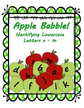 Apple Babble: Identifying Lowercase Letters a - m