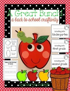 Apple Back To School Craft