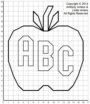 Apple (Back to School) Mystery Picture