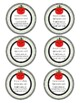Apple Back to School Gift Tags
