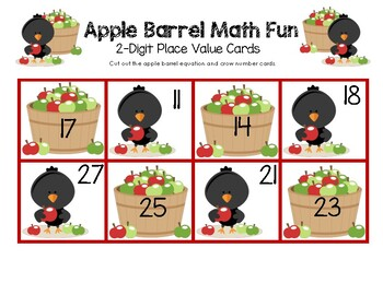 Apple Barrel Math Fun - 2-Digit Place Value