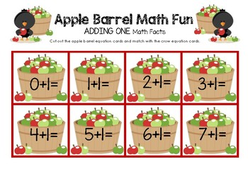Apple Barrel Math Fun Facts - Adding One